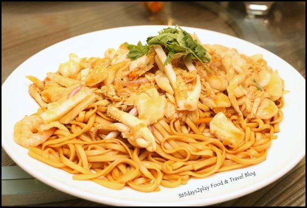 Gu Ma Jia CNY 2017 - Seafood Fried Noodles