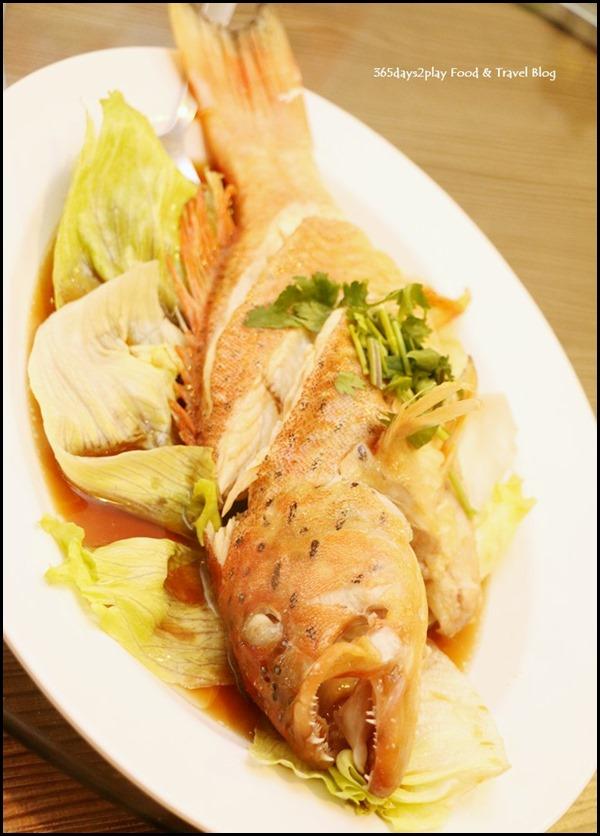 Gu Ma Jia CNY 2017 - Steamed Fish Red Grouper
