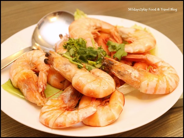Gu Ma Jia CNY 2017 - Stir Fried Prawns with Superior Sauce