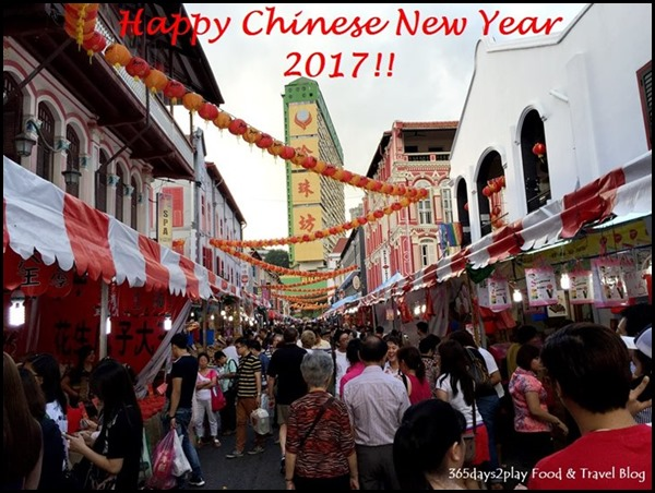 Happy Chinese New Year 2017 (Chinatown)