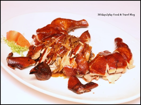 Yan Cantonese Cuisine - Duet Style roasted chicken with Szechuan shreded chicken