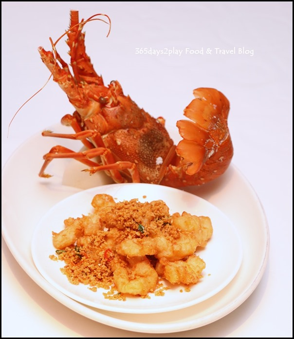 Yan Cantonese Cuisine - Yellowtail Fish & Crispy Lobster Fillet Yu Sheng with Golden Flake in Shun De Style (1)