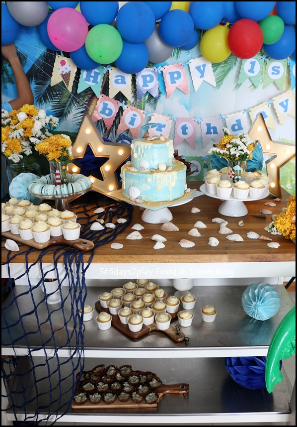 Happy Birthday Party - Lydia Low Dessert Table