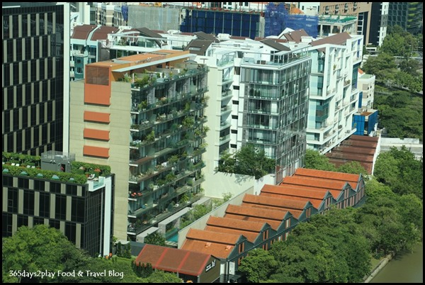 F&B and Condos along Robertson Quay Singapore River