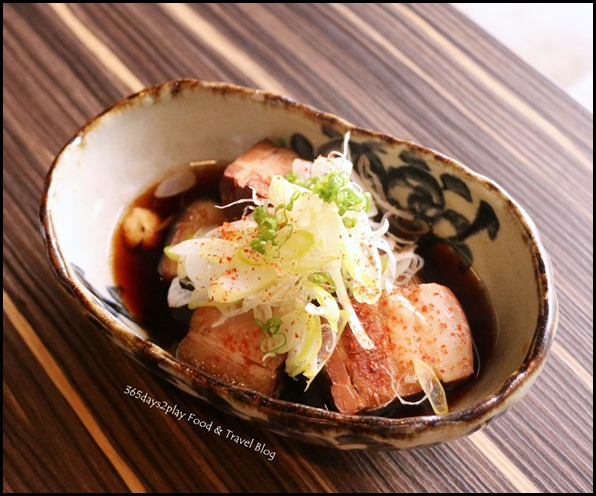 Izy Dining & Bar - Buta Kakuni (Braised Pork) $12