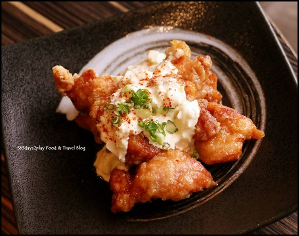 Izy Dining & Bar - Chicken Nanban (Chicken Karaage coated with sweet vinegar soy sauce served with tartar sauce) $9 (2)