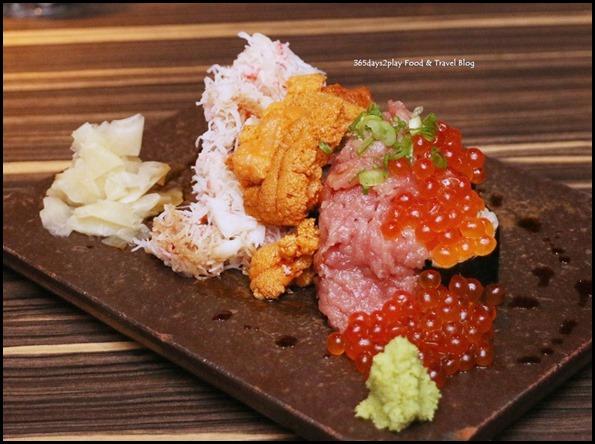 Izy Dining & Bar - Japanese Nokke Roll (Uni, Ikura, Crab, Negitoro, Veg) $45 (2)