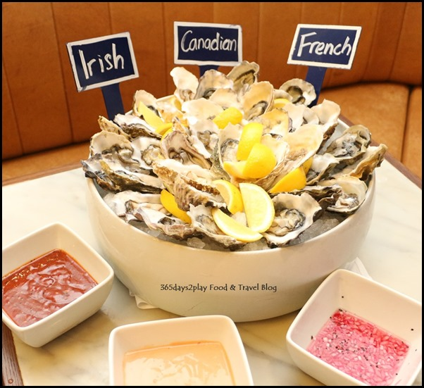 Marriott Cafe - Irish, French and Canadian Oysters