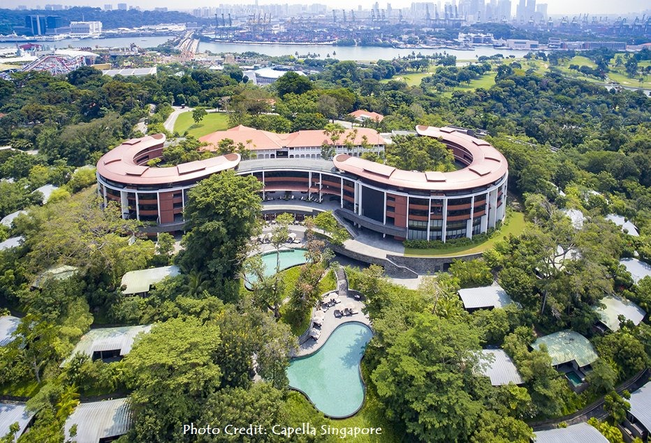 Capella Singapore's Wellness Initiatives–Starting with