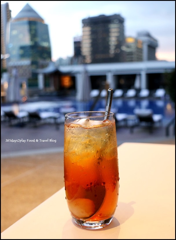 Marriott Pool Grill Lychee Drink