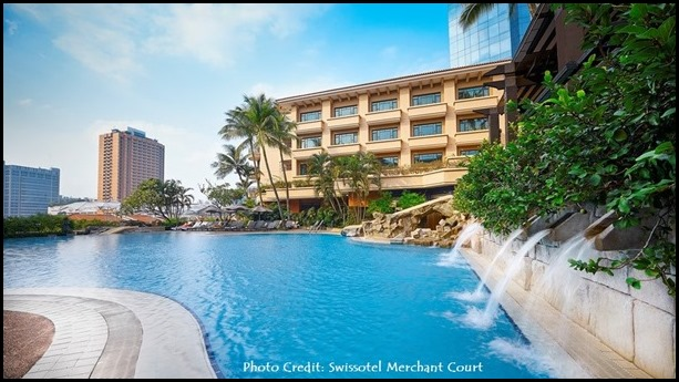 Swissotel Merchant Court_Swimming Pool and Water Slides