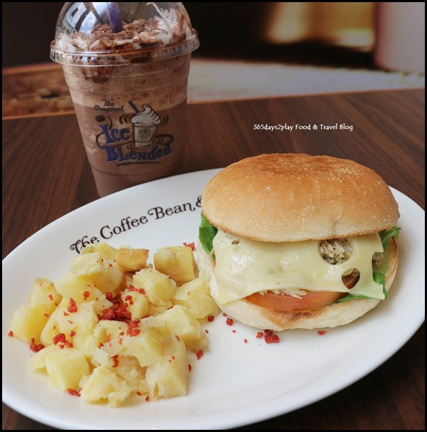 The Coffee Bean - Avocado Tuna Melt $13.90