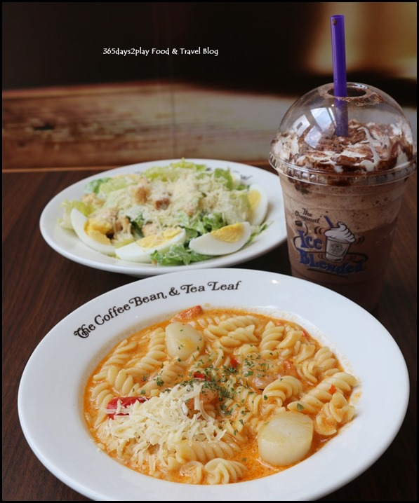 The Coffee Bean - Creamy Seafood Fusili $14.90  (1)