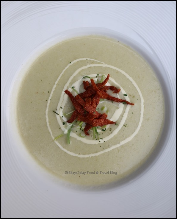 Breez Bistro Bar - Potato and Leek Soup $9