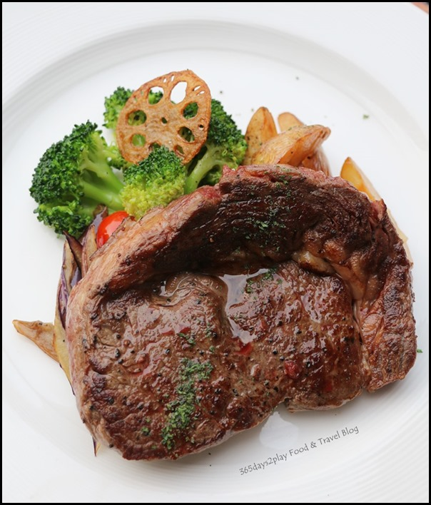 Breez Bistro Bar - Rib-Eye Steak 250 gm $29 (2)