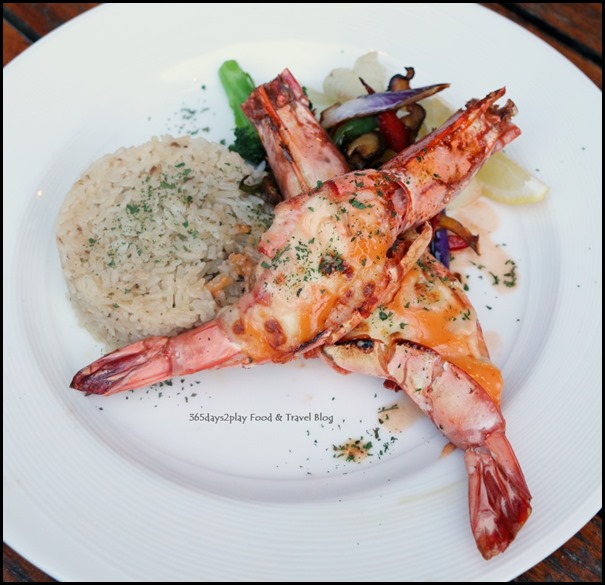 Breez Bistro Bar - Tiger Prawns $32