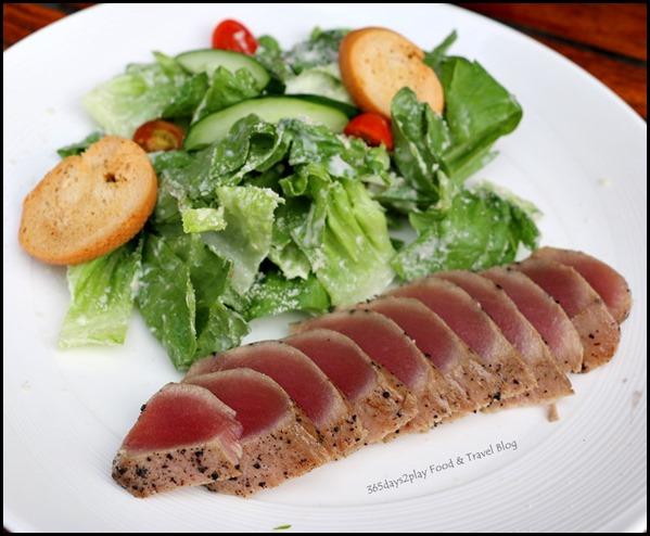 Breez Bistro Bar - Tuna Tataki Salad $16 (1)