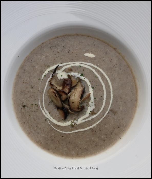 Breez Bistro Bar - Wild Mushroom Soup $9