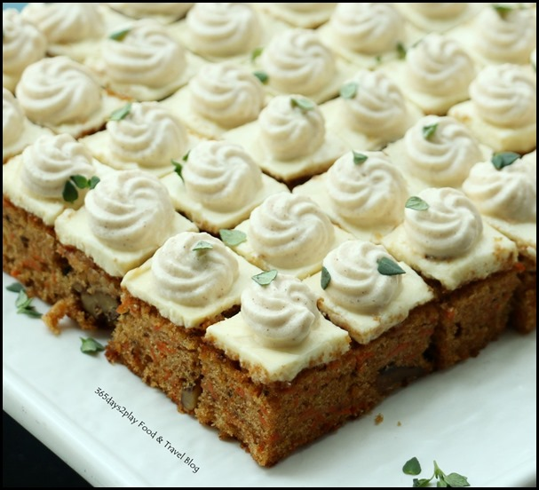 Monti Sunday Brunch - Carrot Cake