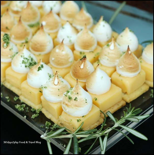 Monti Sunday Brunch - Lemon Rosemary Tartlets