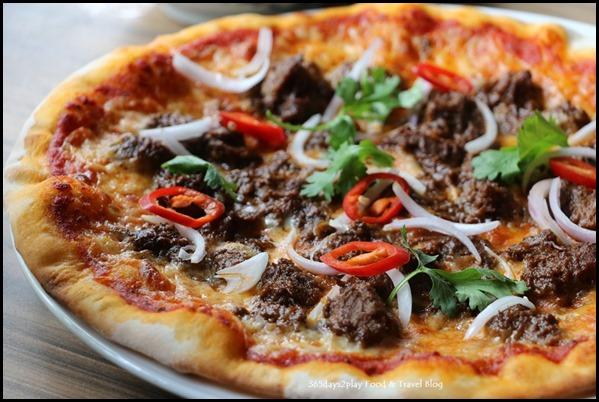Casa Verde - Beef Rendang Pizza