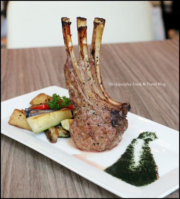 The Butcher's Kitchen - Lamb Rack $35