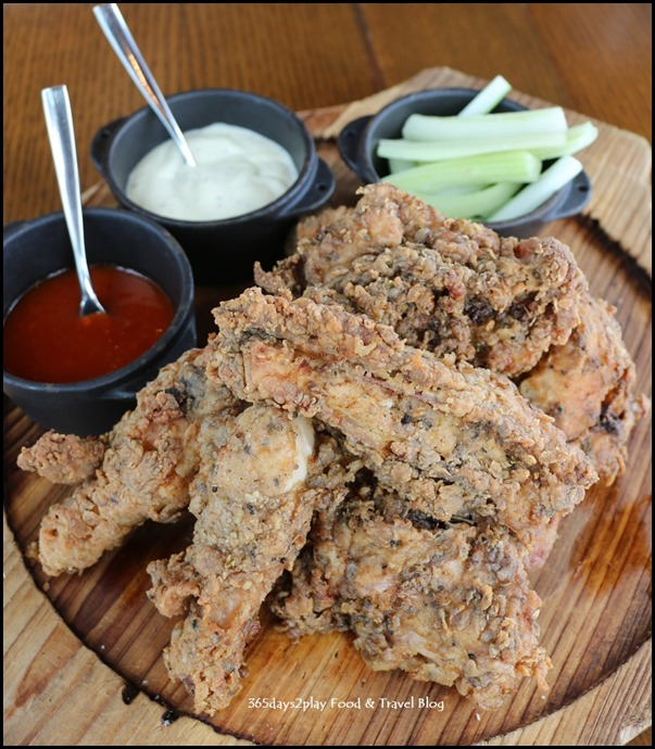 LeVeL33 - Southern Style Chicken (Level33 hot sauce, ranch, 33.4 house porter bbq sauce) $44
