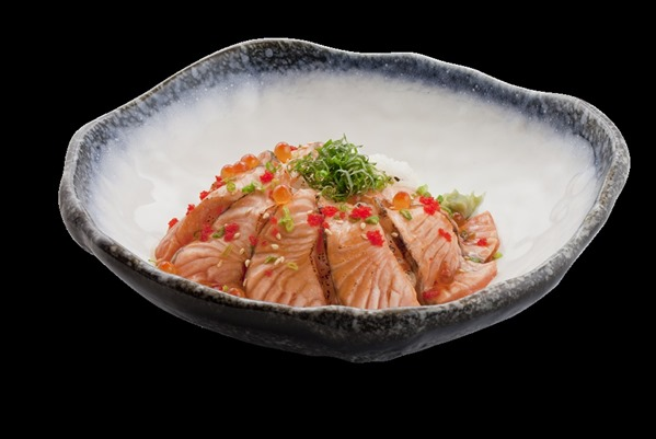 Salmon Aburi Don 2