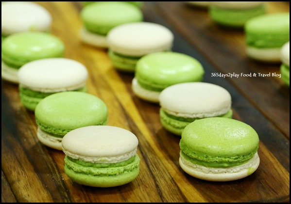 Epicurean Market - Matcha Macarons $2 each from Epicerie Boulud