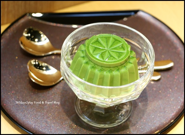 Misato - Matcha Bavarois (Premium green tea French pudding) $7.80  (2)