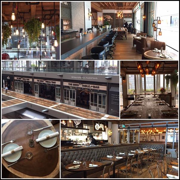 The Bird Southern Table & Bar Interior