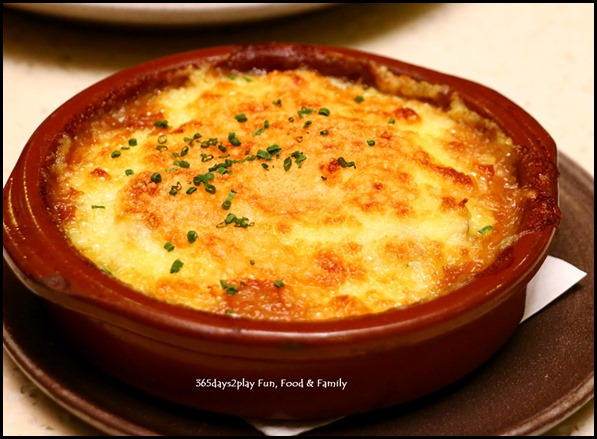Halia - Slow cooked tender Chicken Breast and Braised Minced Leg Potato Gratin ($29  ) (2)