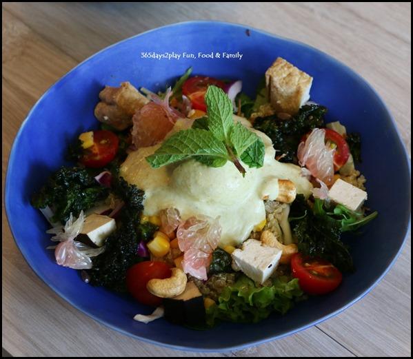 Kara Cafe & Dessert Bar - Coco Cashew Pomelo Grain Bowl $13
