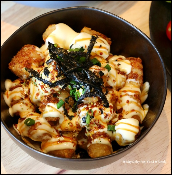Kara Cafe & Dessert Bar - Okonomiyaki Truffle Tots $12 (3)