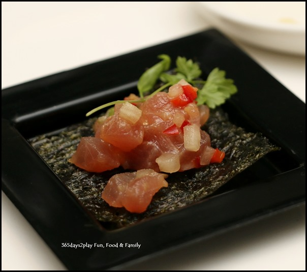 Marriott Hotel Pool Grill - Tuna Tartare