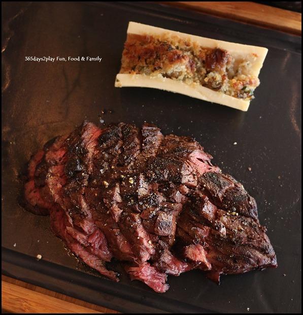 Grand Hyatt Melbourne Collins Kitchen - Hangar Steak and Bone Marrow (250gm) $36 (1)