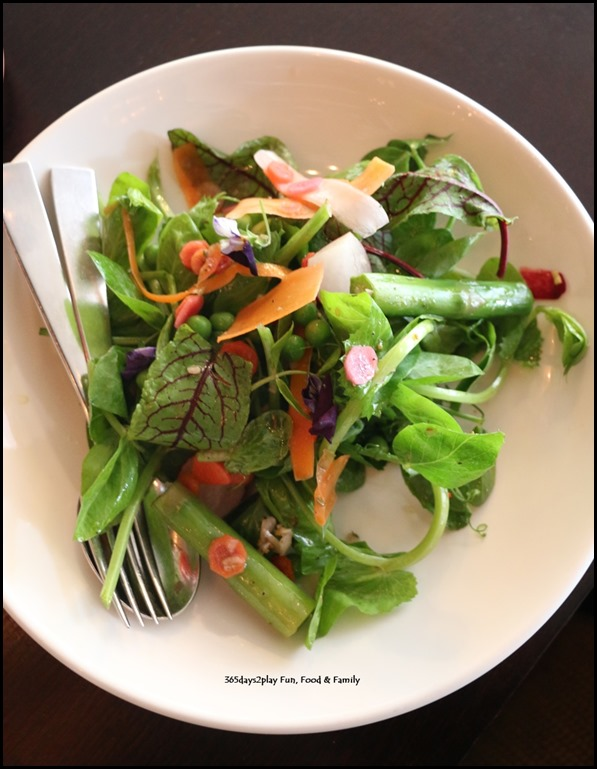 Grand Hyatt Melbourne Collins Kitchen - Spring Salad $8