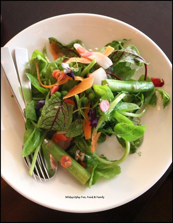 Grand Hyatt Melbourne Collins Kitchen - Spring Salad $8