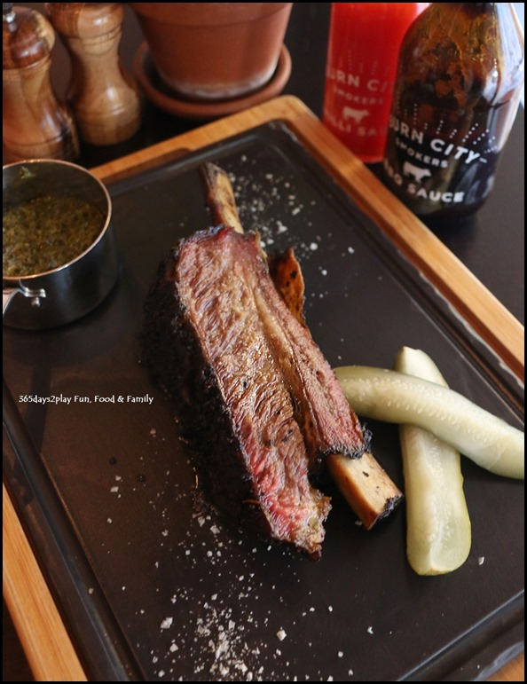 Grand Hyatt Melbourne Collins Kitchen - Tasmanian beef short rib with chimmichurri $46
