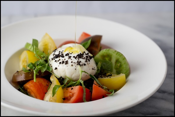 Spanish Heirloom Tomatoes & Burrata Cheese