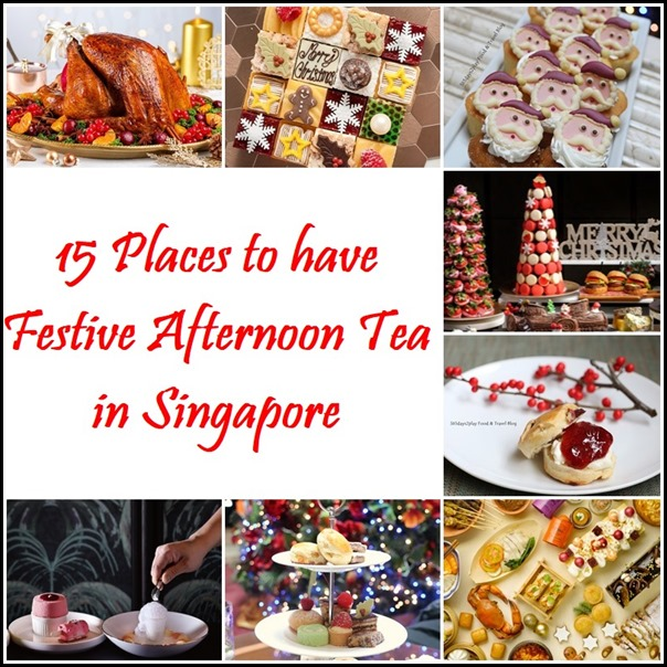15 Places to have Festive Afternoon Tea