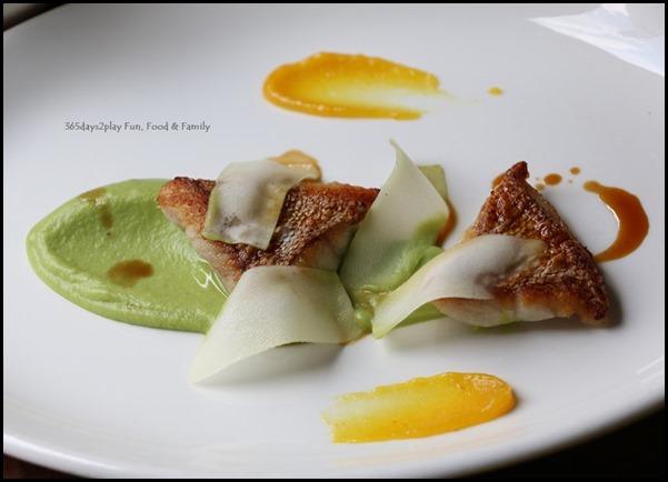 Audace - Pearl Grouper With Orange Paste