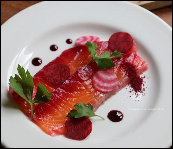 Audace - Salmon Gravlax Beetroot