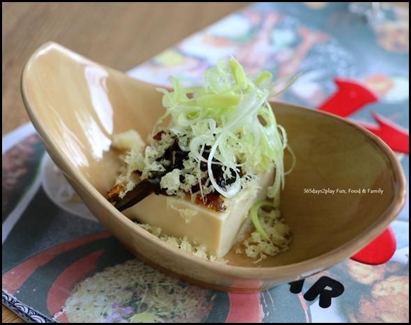 Big Sake Bar - Century Egg Tofu