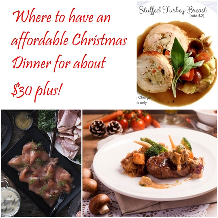 where to have an affordable christmas dinner for about 30