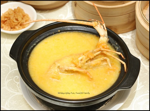 Dragon Bowl Dim Sum Lobster Porridge (2)