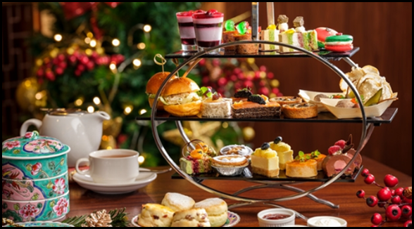Pan Pacific Festive Afternoon Tea