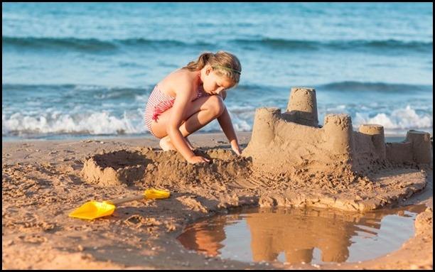 Generic Sandcastle Building photo