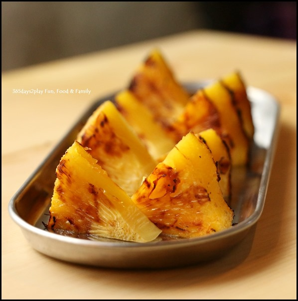 Iza - Grilled Pineapple $2