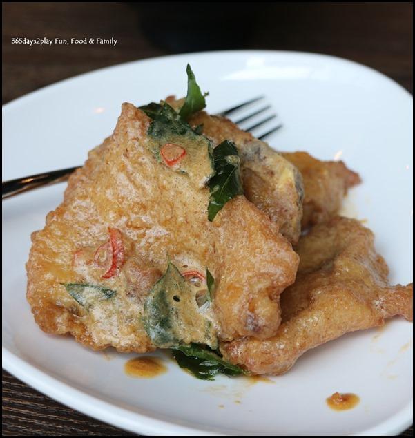 Myo Restobar - Pork Ribs in Salted Egg Yolk Sauce $3 per piece